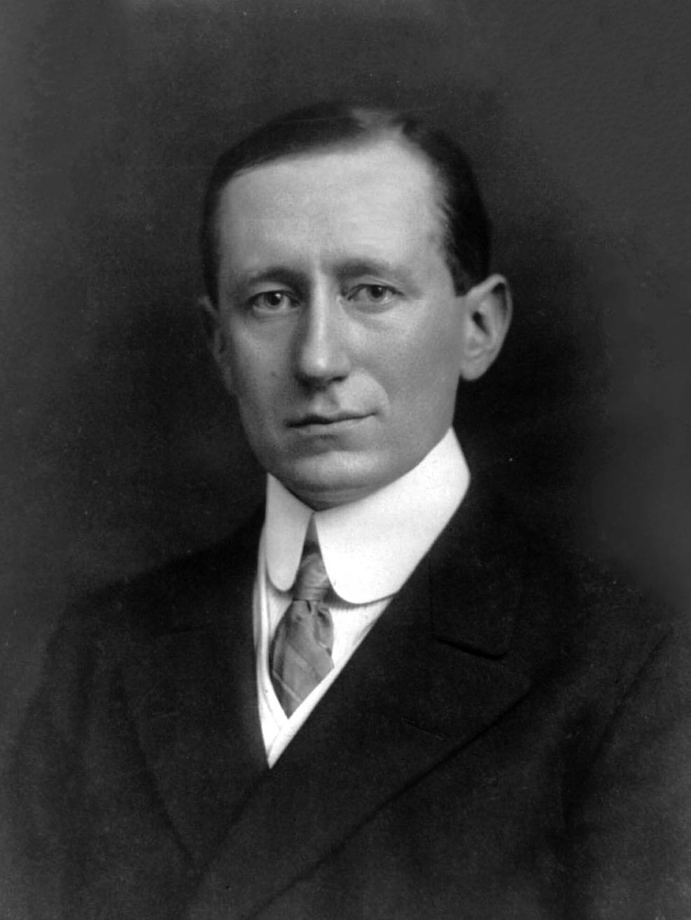 Guglielmo Marconi, 1908. Library of Congress. Fra
