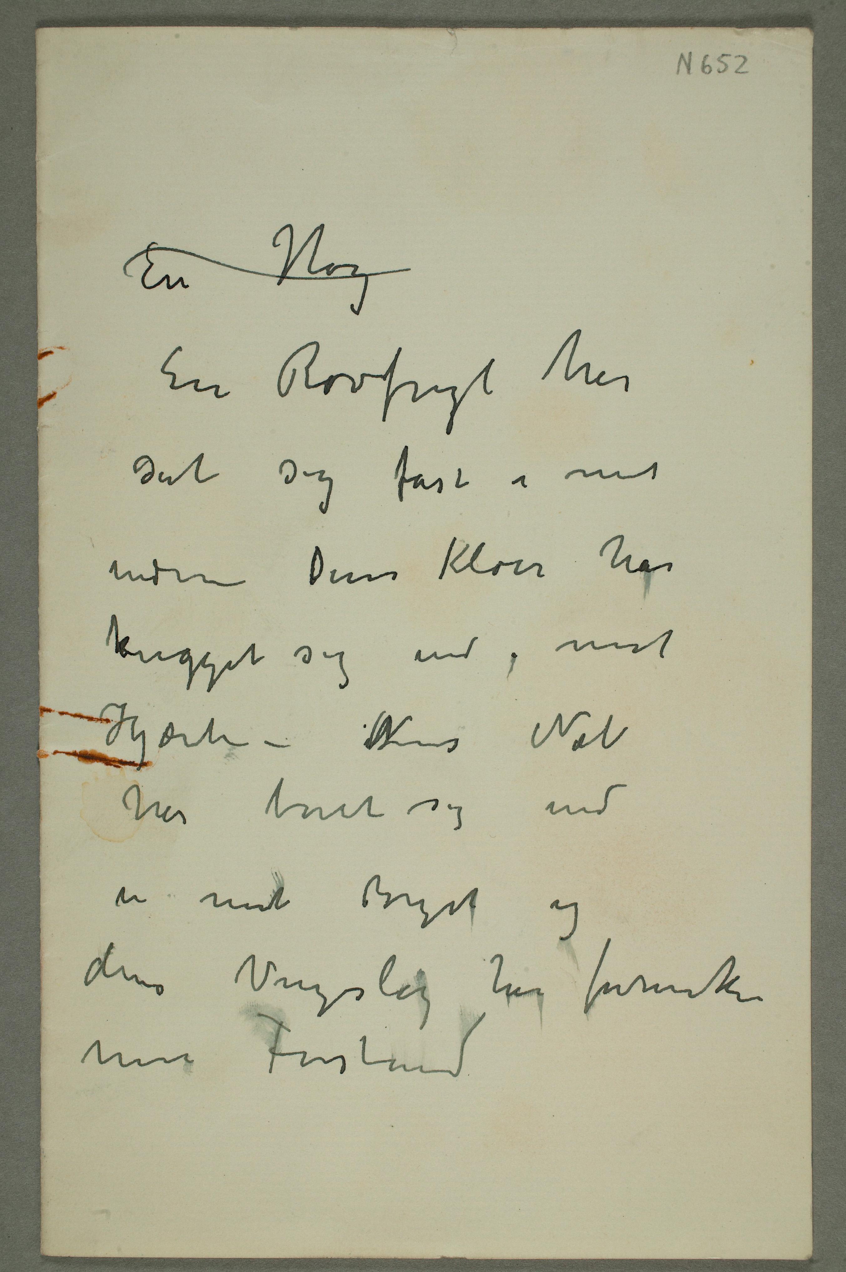 Edvard Munch's Writings | The English edition | Translations